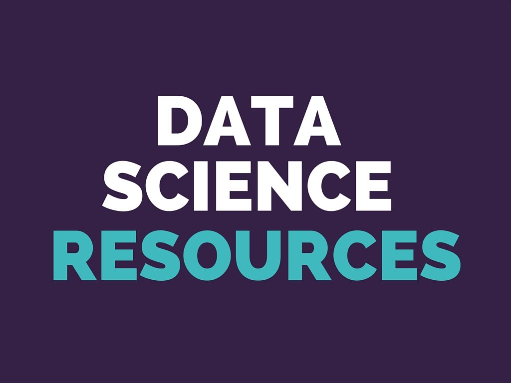 Data Science Resources