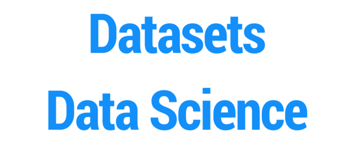 Public Datasets for Data Science